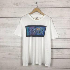 "Vintage 2000 Jazz Exercise ""Millennium"" T-Shirt"